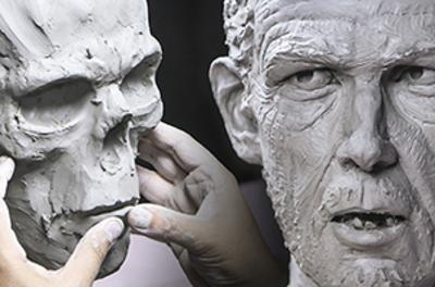 Stan Winston School of Character Arts人类头部解剖学和雕塑DVD